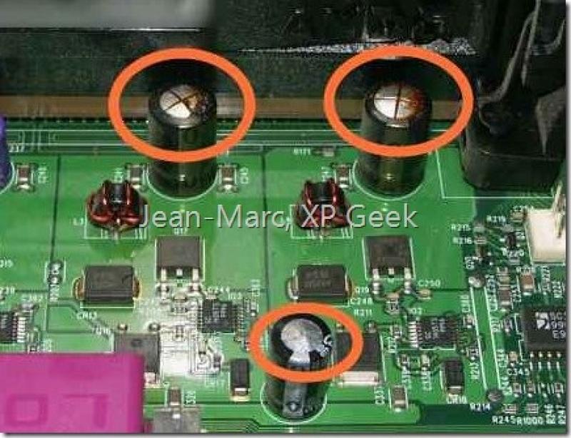 Condensateur allumage hs